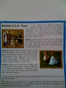 Amish Experience 2